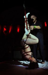 Shibari Bondage Show By Wykd Dave And Clover In Dublin Ireland In 2011 Performed At Twisted Leprechaun006 20180805