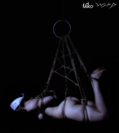 Okissaki Shibari Bondage Photoshoot With Wykd Dave And Clover 2010 020