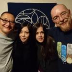 With Naka Akira, Iroha Shizuki & Clover in Tokyo Japan 2018
