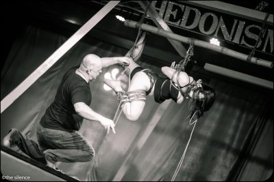 First Shibari Bondage Performance At Beachbind At Hedonism Ii In Jamaica 2018
