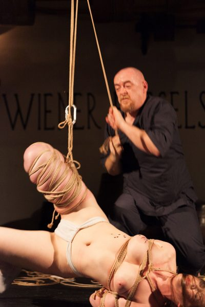 First Shibari Bondage Show In Vienna Austria In 2015