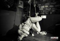 Kinbaku Rope Bondage Suspension Show In Paris 2013
