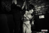 Kinbaku Rope Bondage Suspension Show In Paris 2013