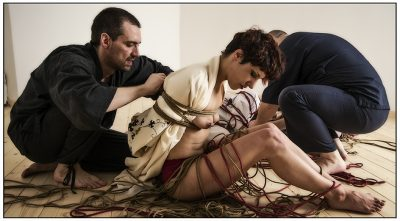 Shibari Bondage Session With Multiple Models In Rome Italy 2013