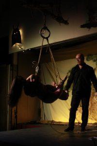 London Shibari Bondage Performance By Wykd Dave & Clover 2013