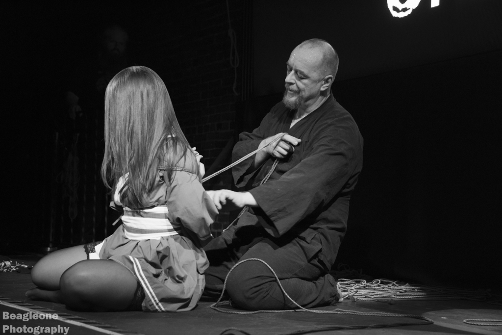 Shibari Show At Bondage Expo Dallas In 2016 Performed At The Church Dallas