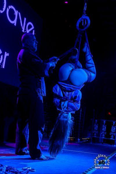 Shibari Show At Bondage Expo Dallas In 2016 Performed At The Church Dallas