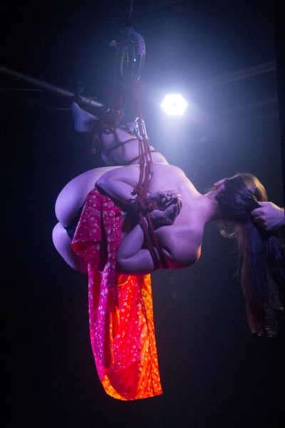 Shibari Suspension Bondage Show By Wykd Dave And Clover At Lust Factory In Geneva Switzerland 2015
