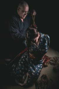 Model Clover, Photo Fredrx, Rope Wykd Dave (wykd.com) Shibari Kinbaku Bondage Session 074