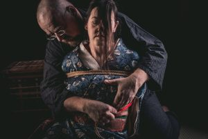 Model Clover, Photo Fredrx, Rope Wykd Dave (wykd.com) Shibari Kinbaku Bondage Session 080