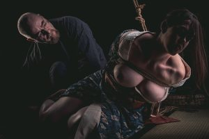 Model Clover, Photo Fredrx, Rope Wykd Dave (wykd.com) Shibari Kinbaku Bondage Session 082