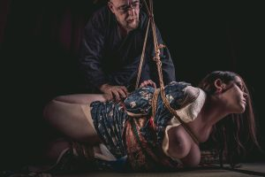 Model Clover, Photo Fredrx, Rope Wykd Dave (wykd.com) Shibari Kinbaku Bondage Session 084