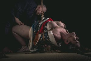 Model Clover, Photo Fredrx, Rope Wykd Dave (wykd.com) Shibari Kinbaku Bondage Session 092