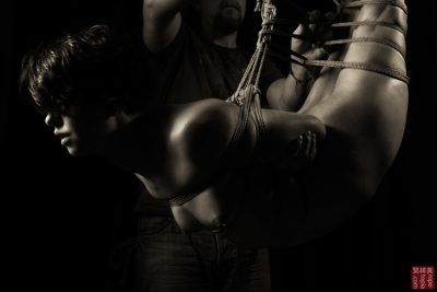 Fuoco Shibari Suspension Bondage Session Rope By Wykd Dave Photography Clover Brook 002