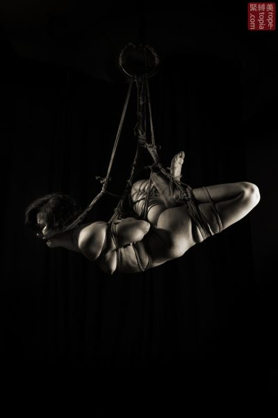 Fuoco Shibari Suspension Bondage Session Rope By Wykd Dave Photography Clover Brook 010