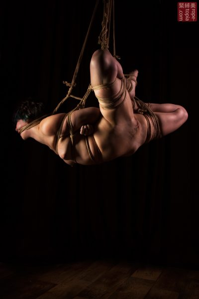Fuoco Shibari Suspension Bondage Session Rope By Wykd Dave Photography Clover Brook 011