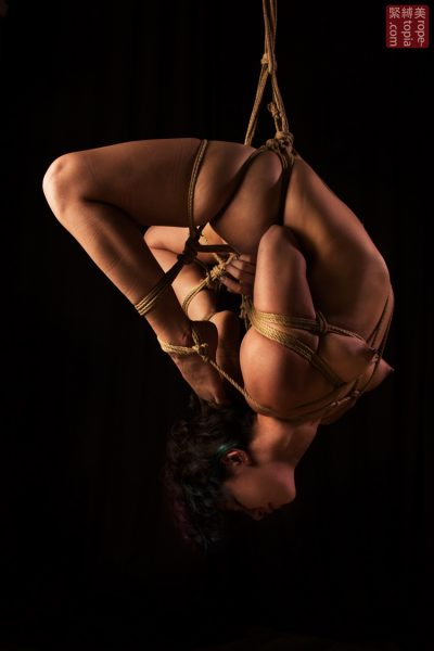 Fuoco Shibari Suspension Bondage Session Rope By Wykd Dave Photography Clover Brook 014