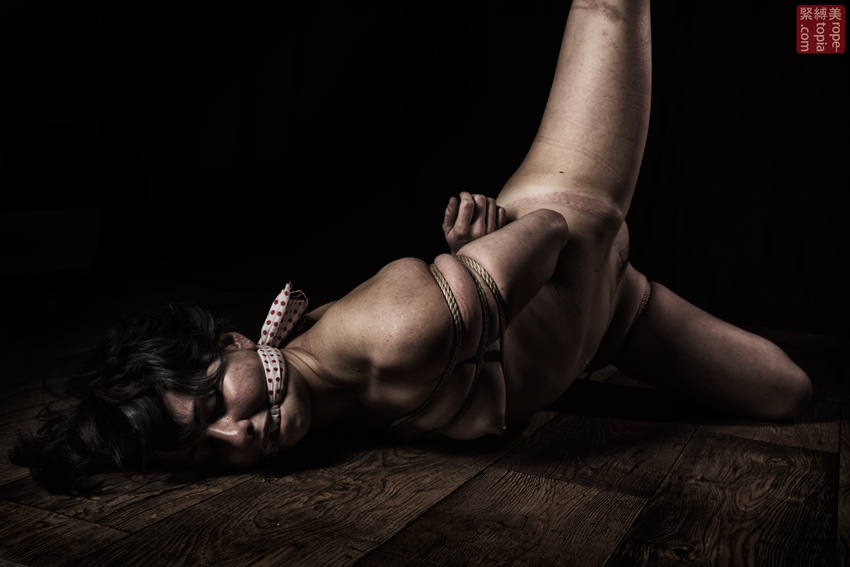 Fuoco Shibari Suspension Bondage Session Rope By Wykd Dave Photography Clover Brook 021