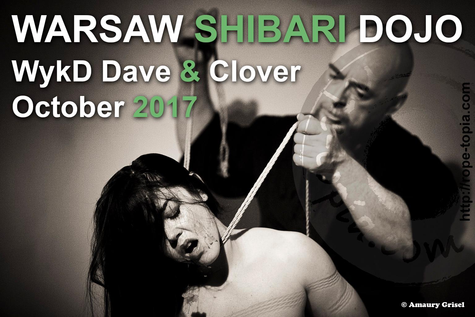 Wykd Dave & Clover Wasaw Shibari Dojo October 2017 2
