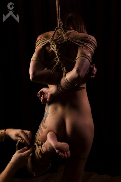 Adreena Winters Shibari Bondage Session Rope By Wykd Dave Photography Clover Brook 03