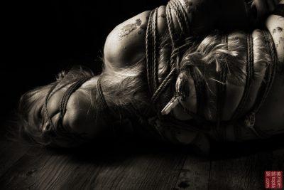 Iongantas Shibari Bondage Session Rope By Wykd Dave Photography Clover Brook 002