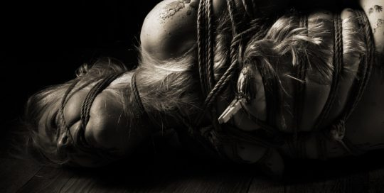 Iongantas Shibari Bondage Session Rope By Wykd Dave Photography Clover Brook 002