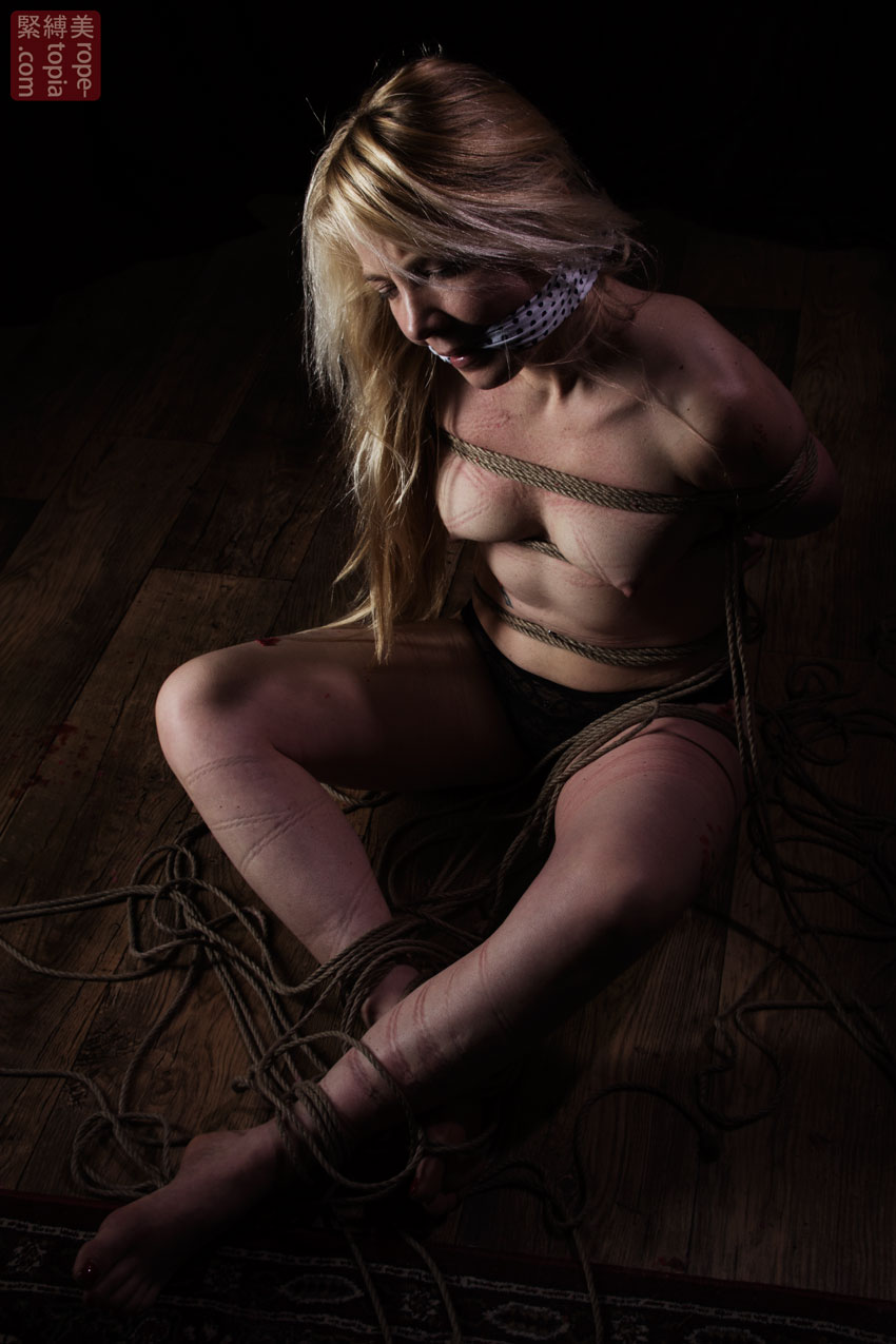 Iongantas Shibari Bondage Session Rope By Wykd Dave Photography Clover Brook 016