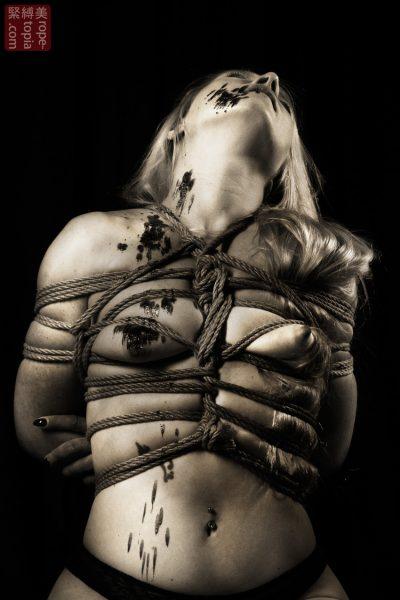 Iongantas Shibari Bondage Session Rope By Wykd Dave Photography Clover Brook 019