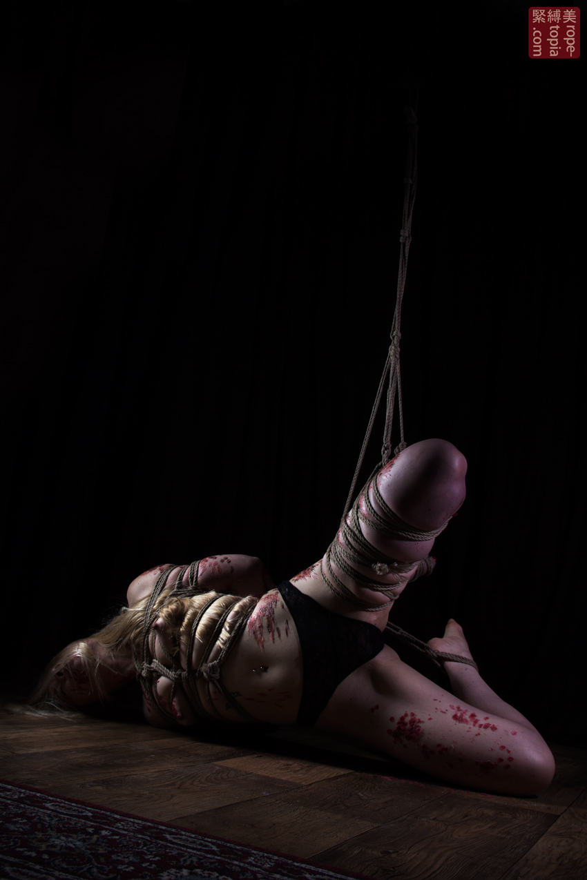 Iongantas Shibari Bondage Session Rope By Wykd Dave Photography Clover Brook 022
