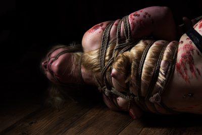 Iongantas Shibari Bondage Session Rope By Wykd Dave Photography Clover Brook 023