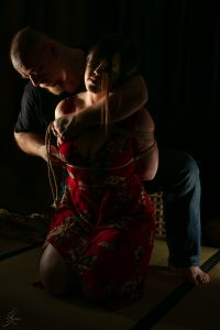 Clover Brook And Wykd Dave Shibari Bondage Session Rope By Wykd Dave Photography Scarlot Rose 12