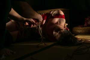 Clover Brook And Wykd Dave Shibari Bondage Session Rope By Wykd Dave Photography Scarlot Rose 22