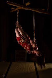 Clover Brook And Wykd Dave Shibari Bondage Session Rope By Wykd Dave Photography Scarlot Rose 38