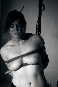 Shibari Bondage Performance By Wykd Dave & Clover In London 2011