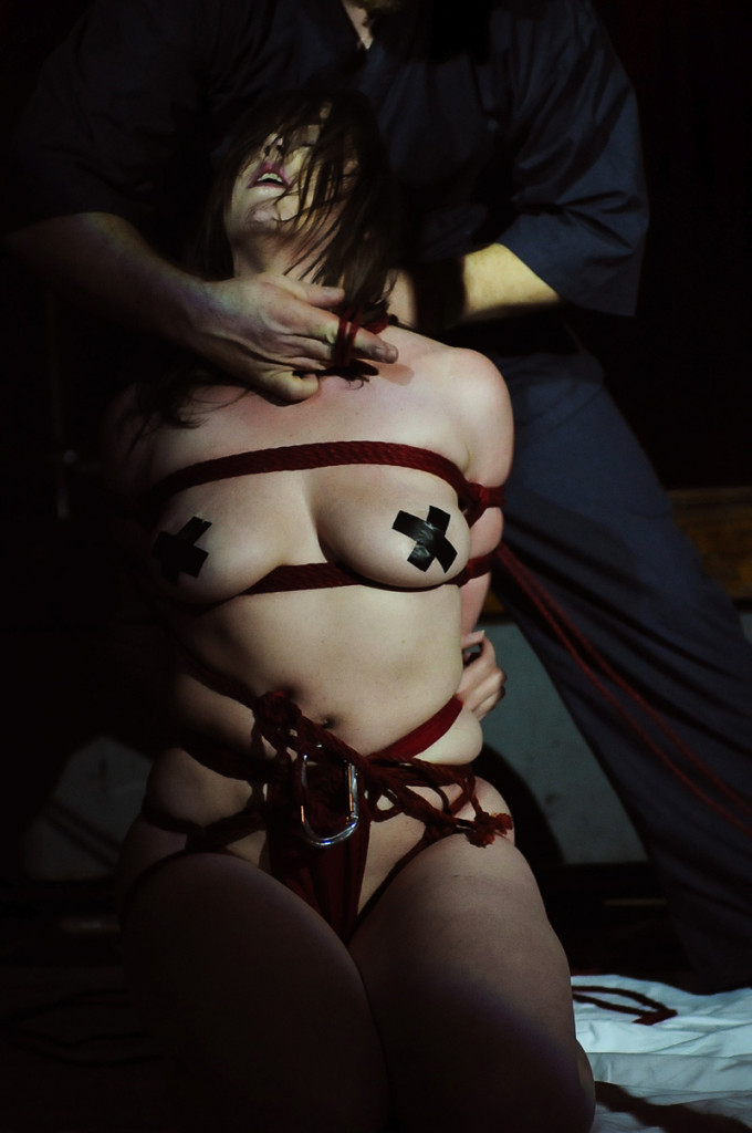 Shibari Bondage Show By Wykd Dave And Clover In Dublin Ireland In 2011 Performed At Twisted Leprechaun009 20180805