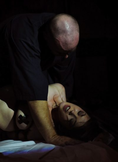 Shibari Bondage Show By Wykd Dave And Clover In Dublin Ireland In 2011 Performed At Twisted Leprechaun012 20180805