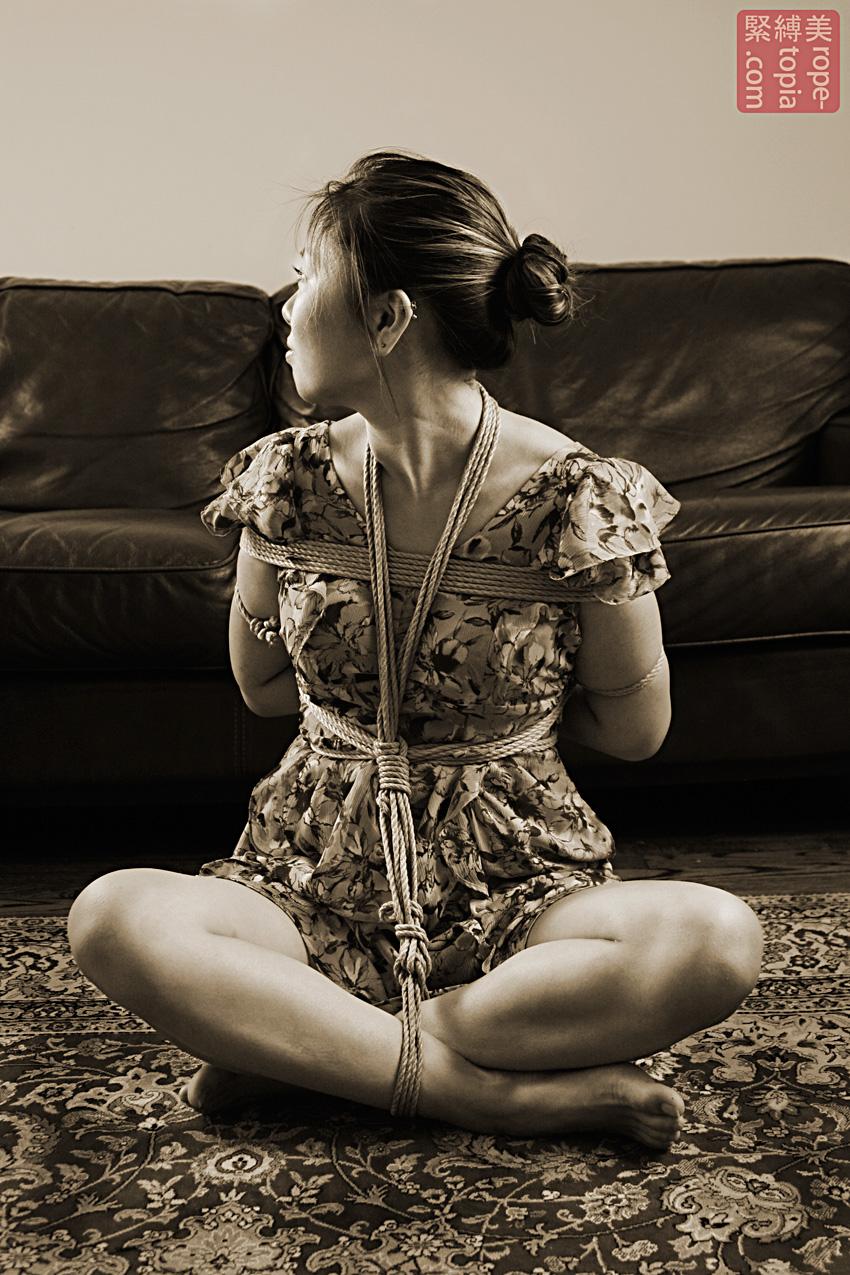 Shibari Bondage Shoot With Bella In Baltimore Bondage Photos By Clover Shibari Bondage By Wykd Dave 001 20130901