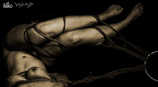 Shibari Shoot with Okissakki