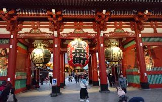 Senso-ji Temple Asakusa Tokyo Japan 2018