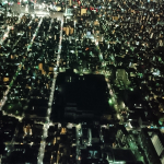 View from the skytree Tokyo Japan 2018