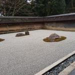 Ryōan-ji temple Zen garden near Kyoto Japan 2018
