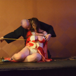 Kinbaku session show at Bondage Expo Dallas 2018 Dallas Texas. Images by KingKey.