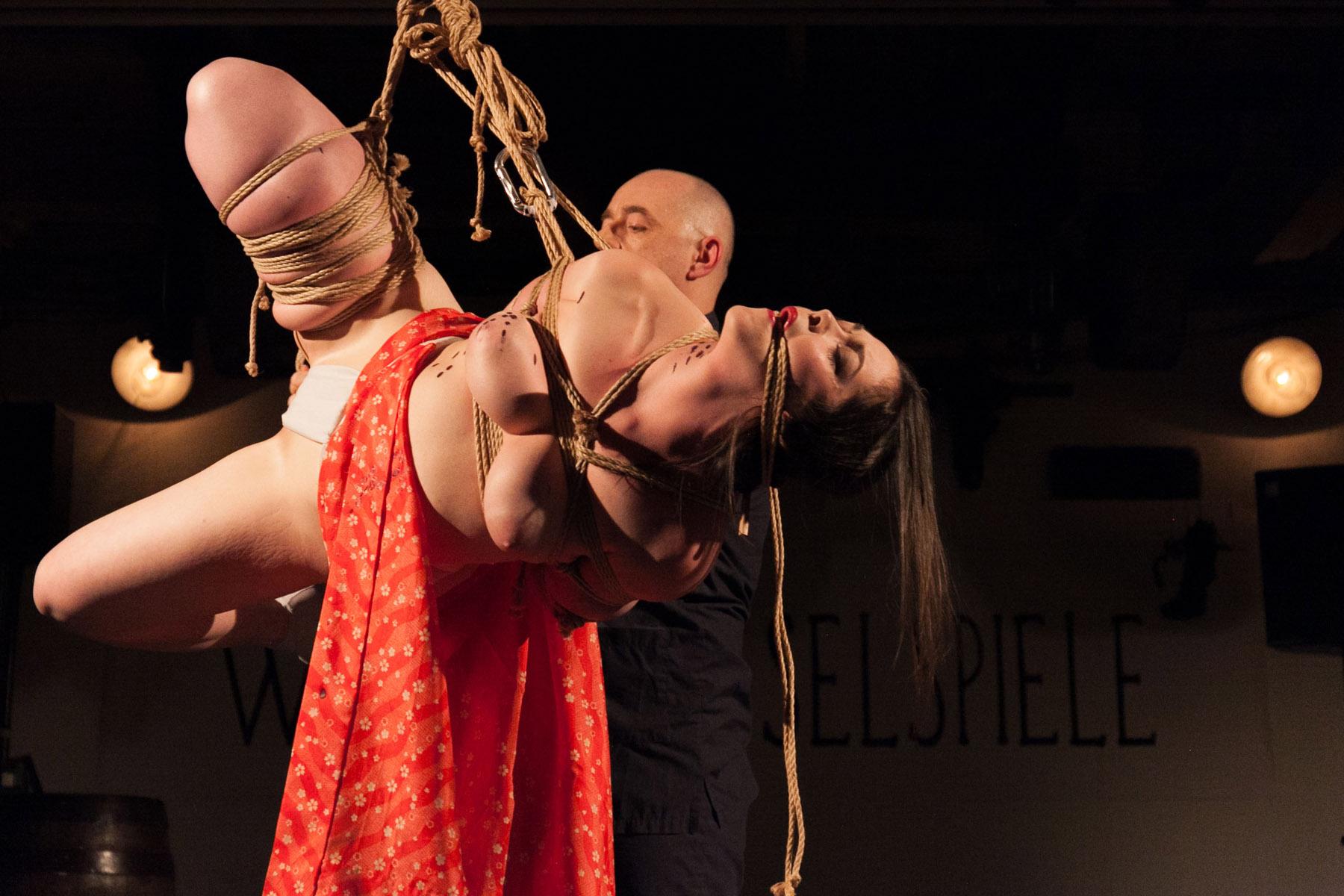 First Shibari Bondage Show In Vienna Austria In 2015