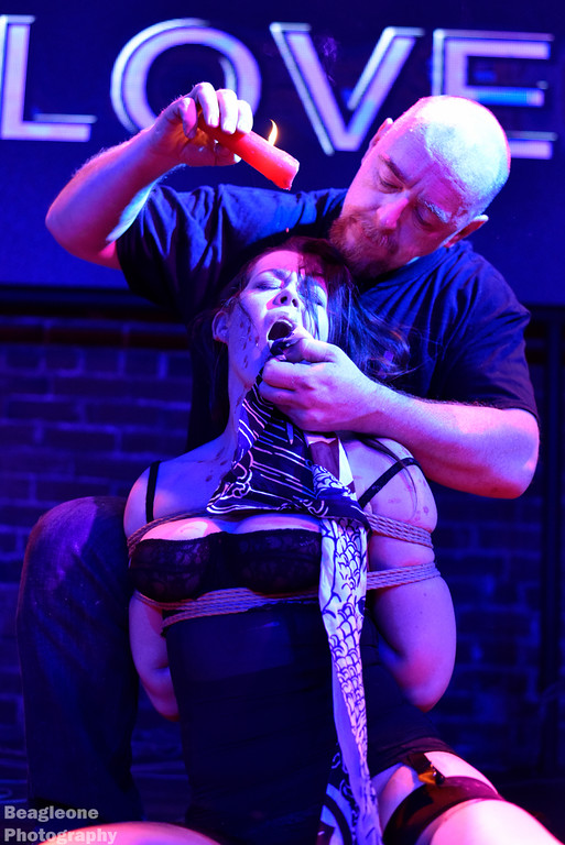 Shibari Bondage Performance At The Church Dallas Bondage Expo Dallas (bed) After Party In 2015