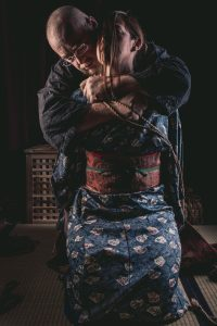 Model Clover, Photo Fredrx, Rope Wykd Dave (wykd.com) Shibari Kinbaku Bondage Session 067