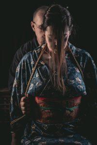 Model Clover, Photo Fredrx, Rope Wykd Dave (wykd.com) Shibari Kinbaku Bondage Session 069