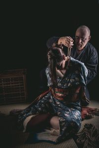 Model Clover, Photo Fredrx, Rope Wykd Dave (wykd.com) Shibari Kinbaku Bondage Session 078