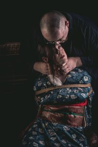 Model Clover, Photo Fredrx, Rope Wykd Dave (wykd.com) Shibari Kinbaku Bondage Session 081