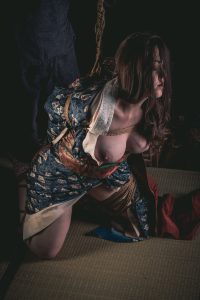 Model Clover, Photo Fredrx, Rope Wykd Dave (wykd.com) Shibari Kinbaku Bondage Session 085