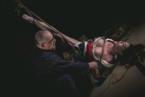 Model Clover, Photo Fredrx, Rope Wykd Dave (wykd.com) Shibari Kinbaku Bondage Session 093